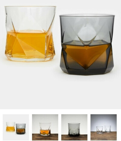 Граненые бокалы для виски