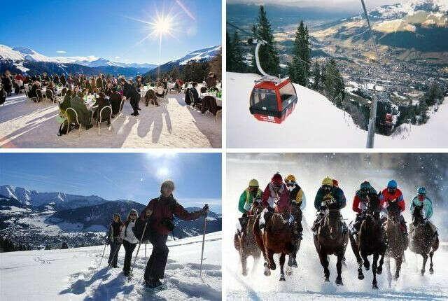 Отдых на горнолыжном курорте в Альпах