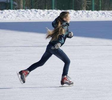 Покататься на коньках этой зимой