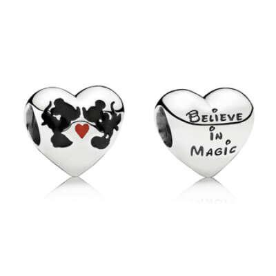 Шарм Pandora Disney Minnie&Mickey Kiss