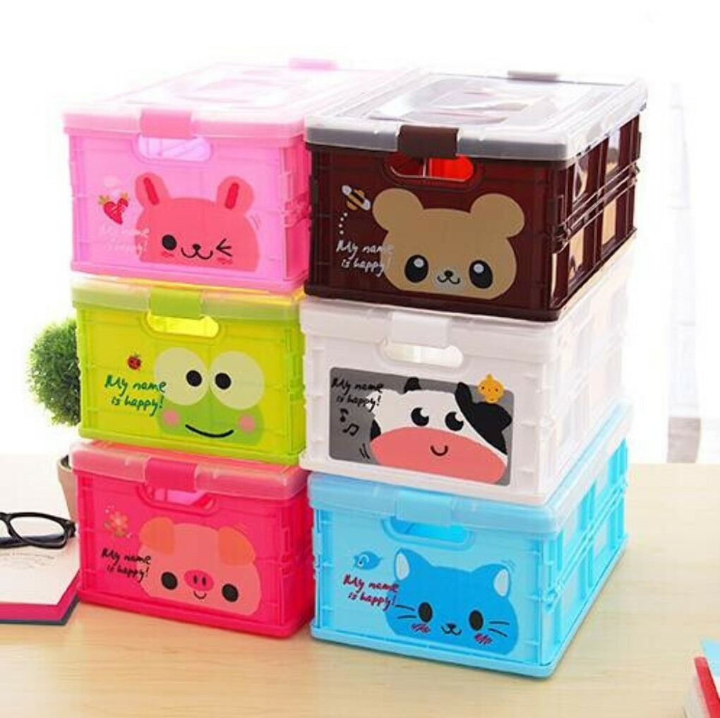 Folding Plastic Collapsible Storage Box