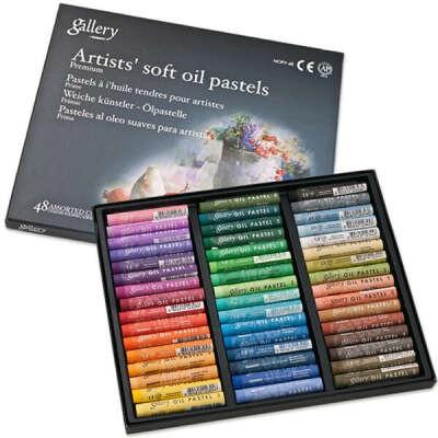 Масляная пастель 48 цветов