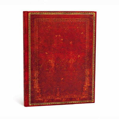 Paperblanks - Venetian Red / Midnight Steel / Byzantium Classic Leather - Size: Ultra