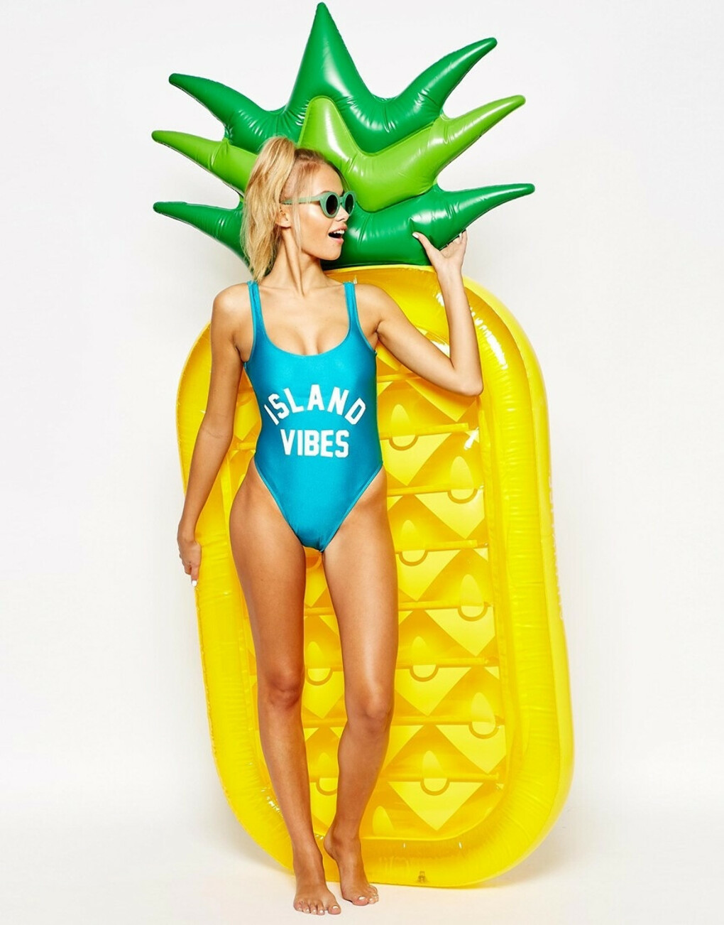 Sunnylife Inflatable Pineapple at asos.com