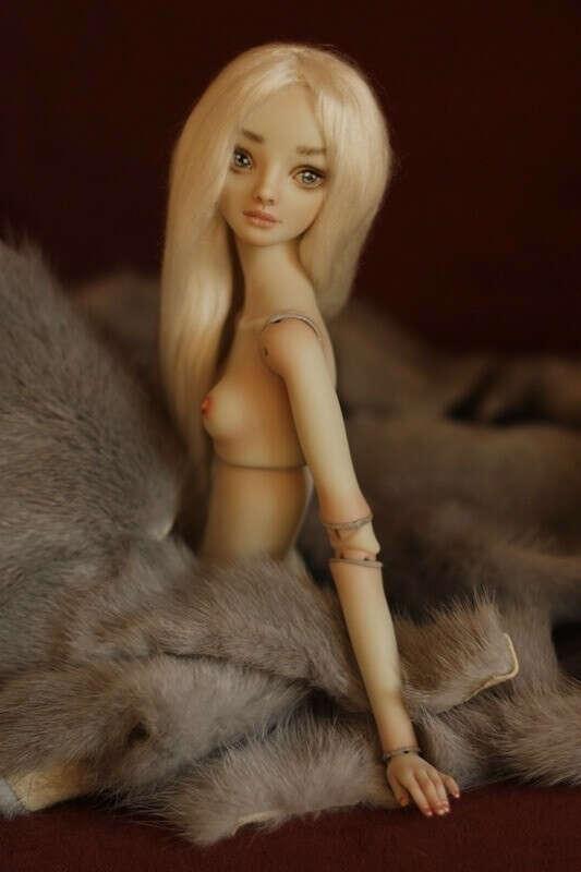 Шарнирная кукла от Марины Бычковой