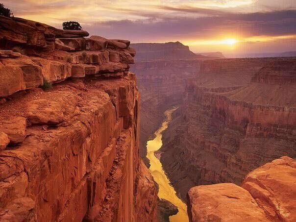 Посетить Гранд-Каньон в Аризоне, США