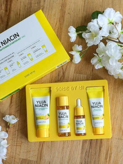 Набор с экстрактом юдзу для осветления кожи Yuja Niacin Started Kit, Some by mi
