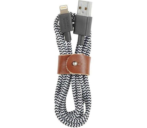 Кабель Native Union USB-Lightning — Zebra color