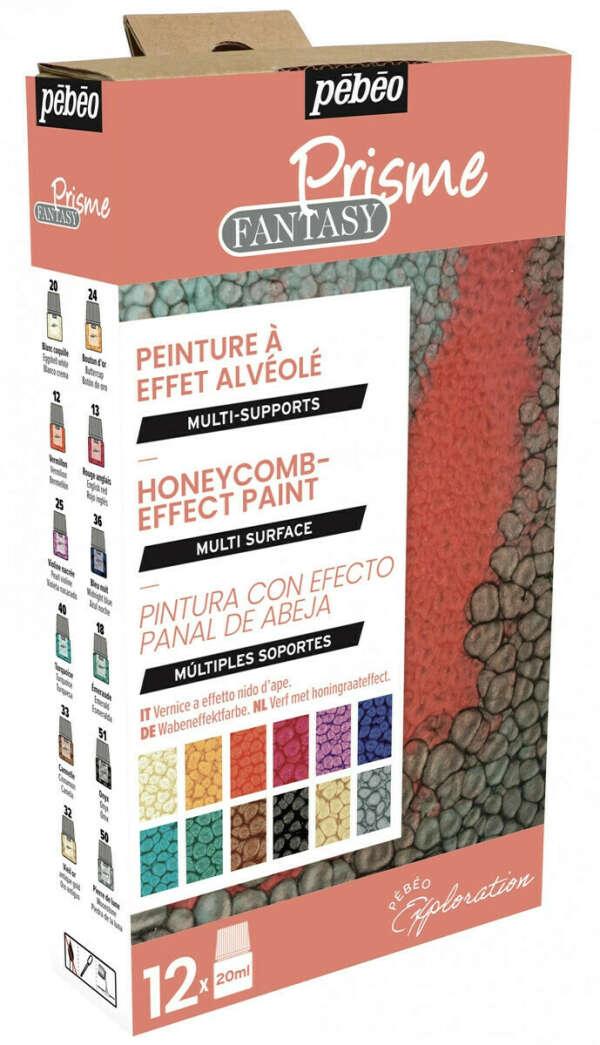 """Краска по керамике """"PEBEO"""" Набор красок Fantasy Prisme """"Исследование"""""""