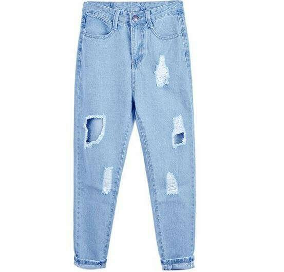 джинсы бойфренд