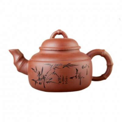 Заварочный чайник из глины или керамики