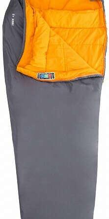 Спальный мешок для походов Outventure Trek T +3 левосторонний