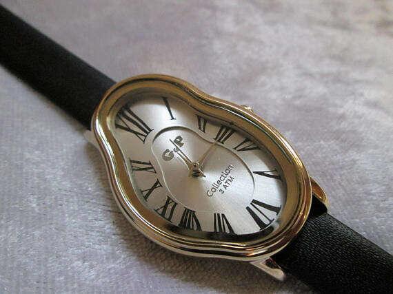 Salvador Dali Inspired watch