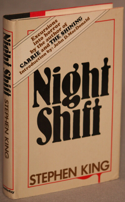 "Книга  ""Ночная Смена"" с автографом Стивена Кинга"