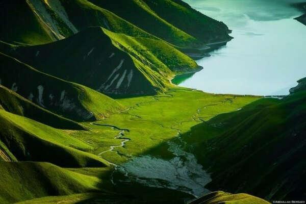 Озеро Кезеной-Ам. Чечня, Россия
