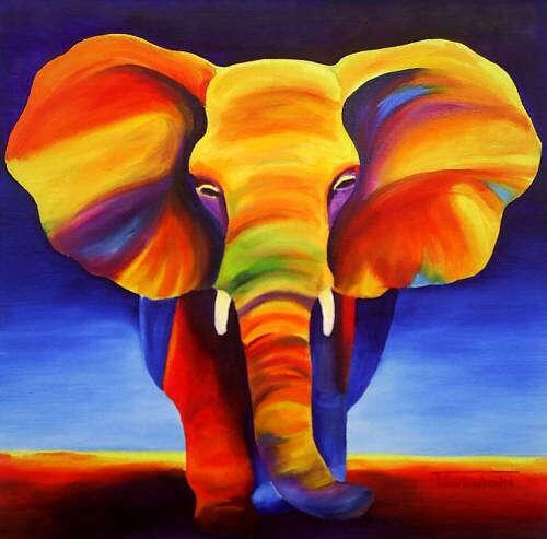 Покататься на слоне!