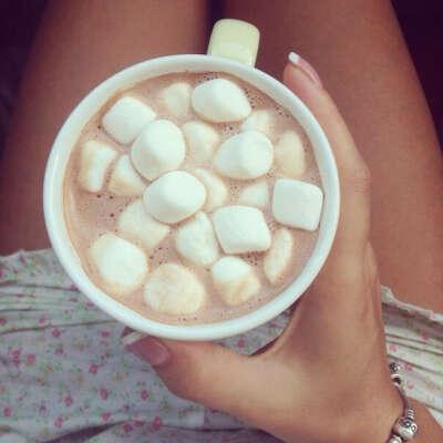 кофе с маршмаллоу