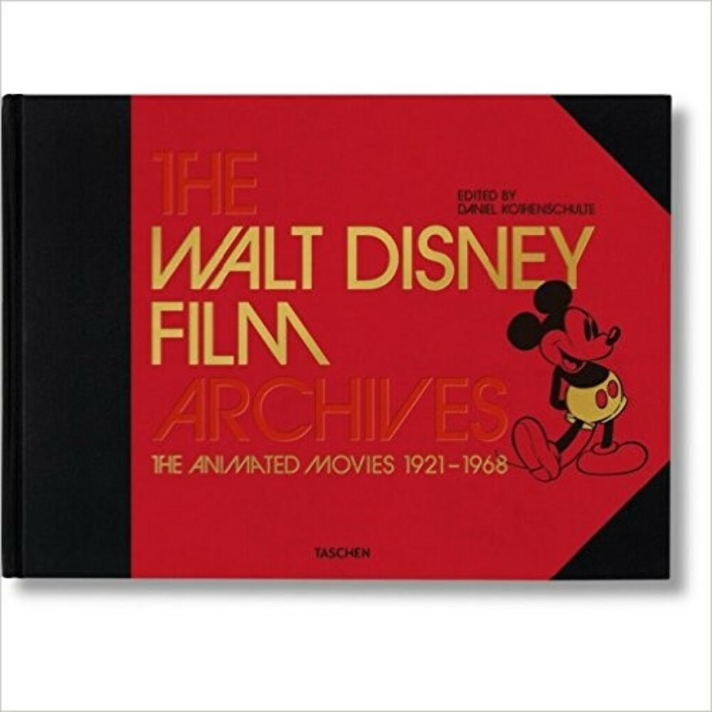 The Walt Disney Film Archives: The Animated Movies 1921-1968                                Hardcover
