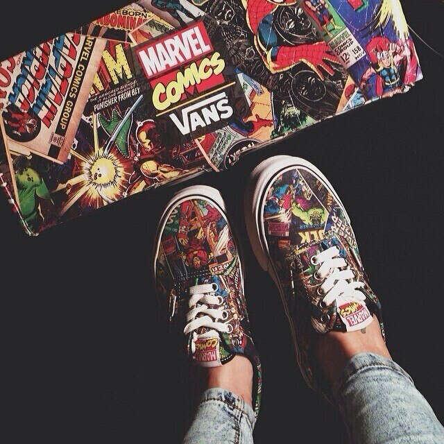 Vans Marvel Comics