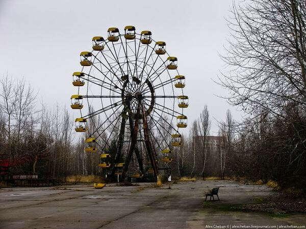 Побывать в Припяти