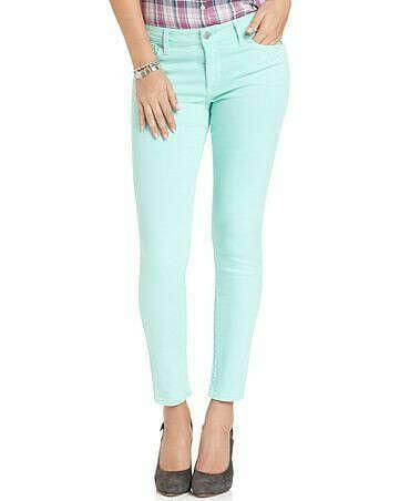 Ментоловые джинсы
