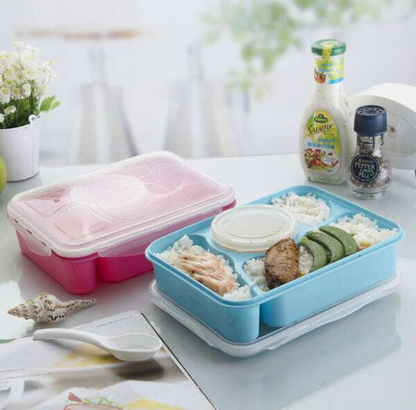 Вместительный и удобный контейнер для еды