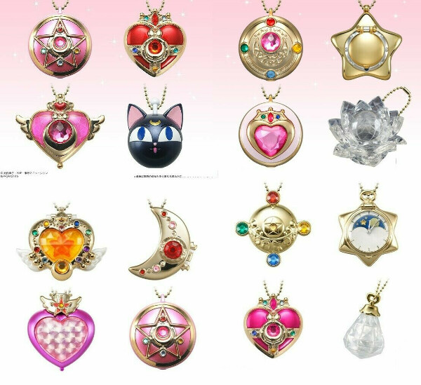 Sailor Moon Bandai брелочки для телефона