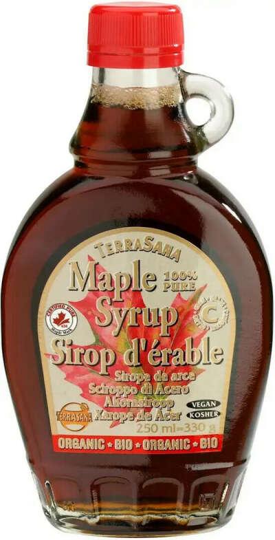 Кленовый сироп (без сахара в составе)