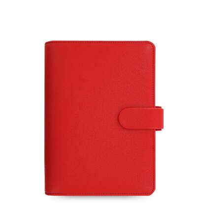 Filofax Personal Saffiano Organizer (personal poppi red)