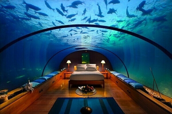 Мальдивы- отель под водой