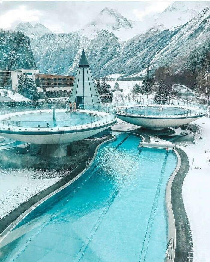 Aqua Dome in Austria