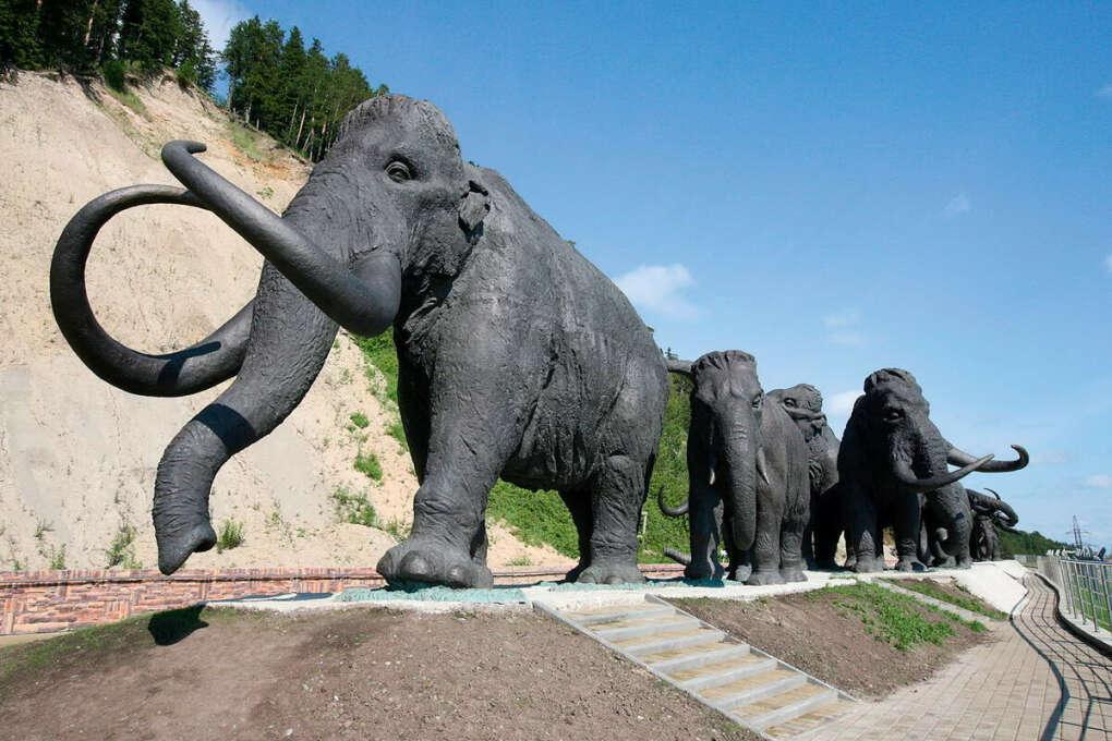 Хочу побывать в этом месте, среди скульптур мамонтам.
