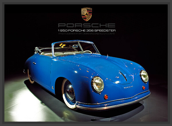 1950 Vintage Porsche 356 Speedster