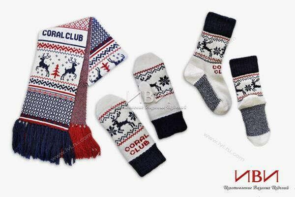 теплые варежки, перчатки и шарфы