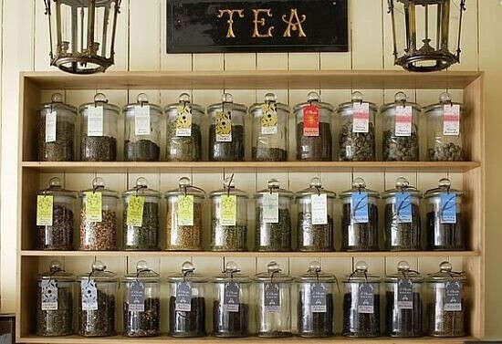 Огромный набор чая