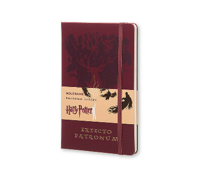 Moleskine Harry Potter - Expecto Patronum, Large (13x21см)