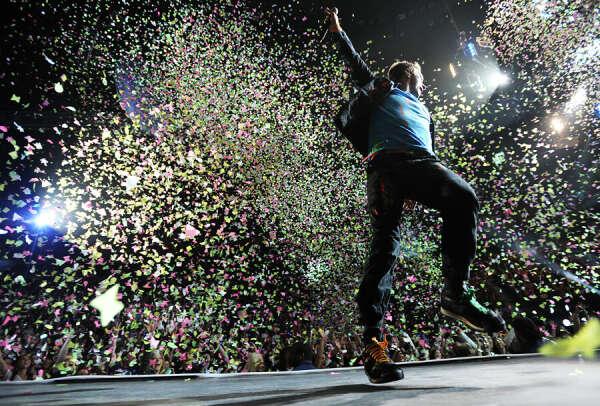 Побывать на концерте Coldplay