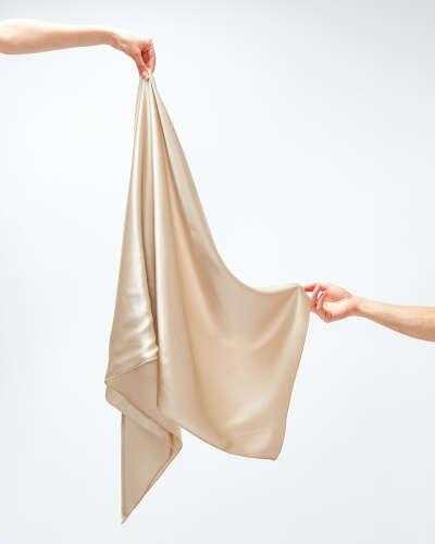 Шёлковое полотенце для волос