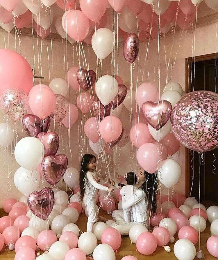 Кучу летучих шариков на День рождения