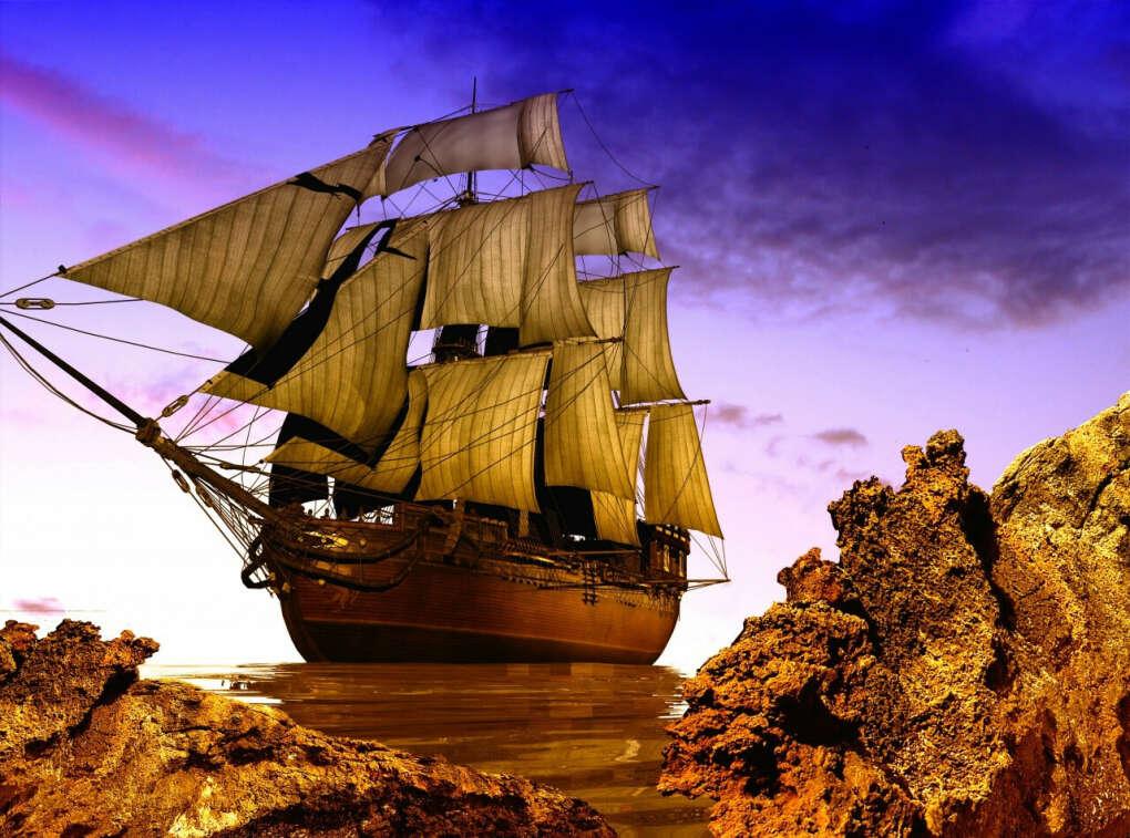Путешествие на парусном корабле