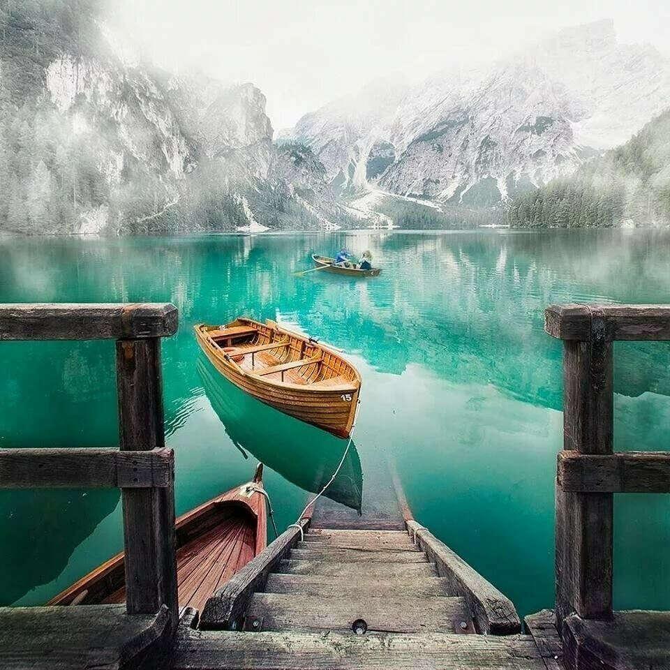 Побывать на озере Браес (Италия)
