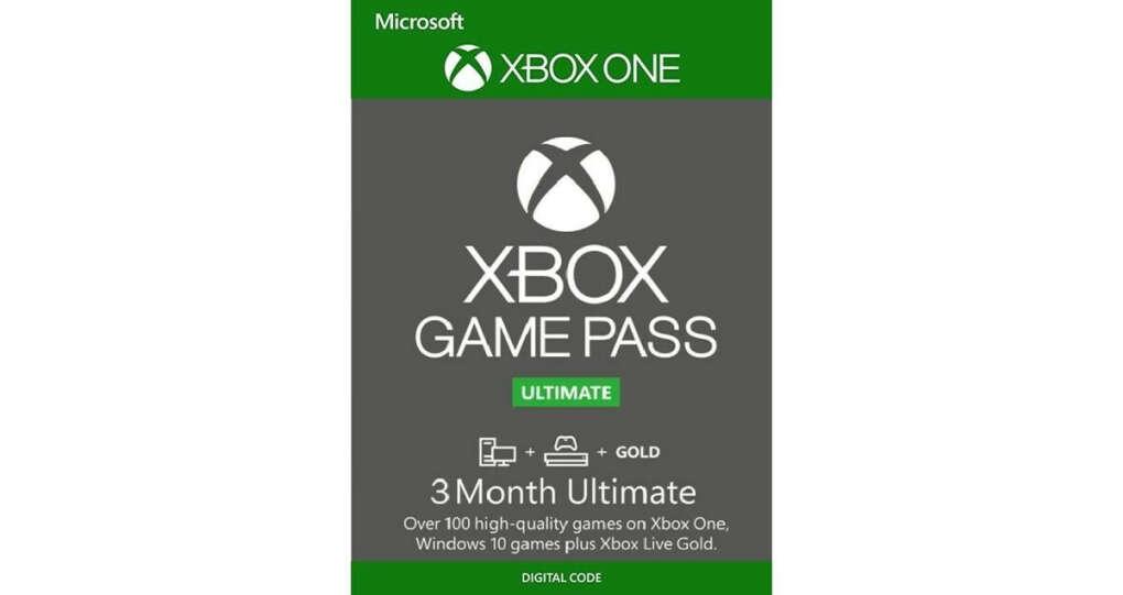 Xbox Game Pass Ultimate на 3 месяца