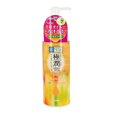 Гидрофильное масло для лица `HADA LABO` GOKUJYUN с гиалуроновой кислотой