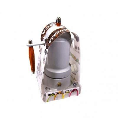 Кофеварка гейзерная серая G.A.T. MINNI PLUS 3 чашки