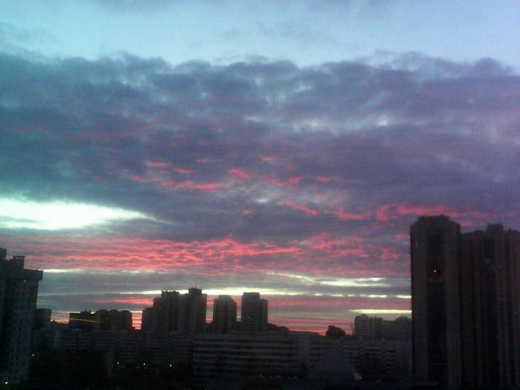 Увидеть красивое небо