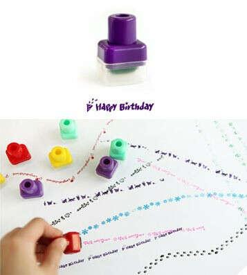 Печать Happy Birthday роликовая