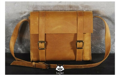 Кожаную сумку Bagllet