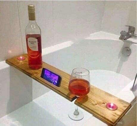 Полочка для ванны