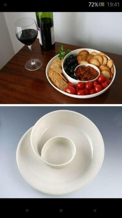 тарелку