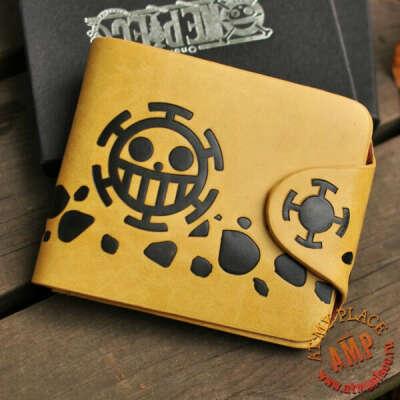 Желтый кошелек One Piece - Трафальгар Ло